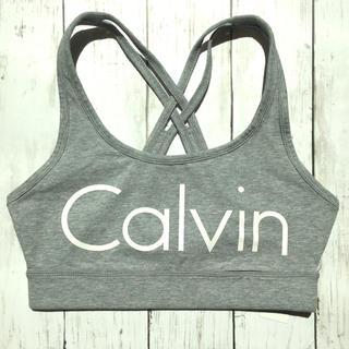 カルバンクライン(Calvin Klein)の【新品・タグ付き】Calvin Klein フィットネスブラ ブラトップ(ヨガ)