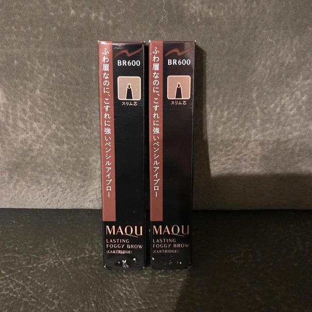 MAQuillAGE(マキアージュ)のマキアージュアイブローBR600 2本セット コスメ/美容のベースメイク/化粧品(アイブロウペンシル)の商品写真