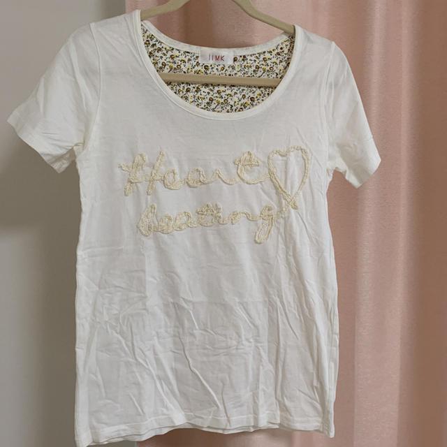 iiMK(アイアイエムケー)の美品☆iiMKコットンTシャツ レディースのトップス(Tシャツ(半袖/袖なし))の商品写真