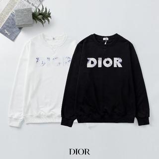 ディオール(Dior)のDIOR 2101 Tシャツ/長袖 ロゴ プリント 2枚12000円(Tシャツ/カットソー(七分/長袖))