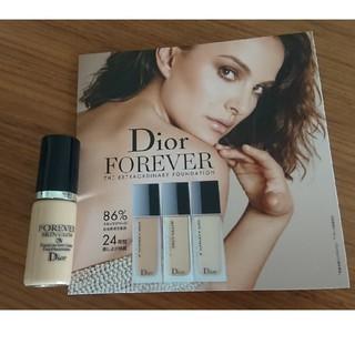 ディオール(Dior)のDior ディオール ファンデーション ミニ サンプル(ファンデーション)
