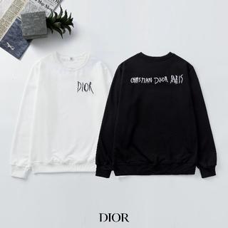 ディオール(Dior)のDIOR 2107 刺繍 ロゴ 男女兼用 2枚12000円(Tシャツ/カットソー(七分/長袖))