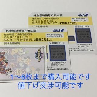 ANA(全日本空輸) - ANA株主優待券 即日発送