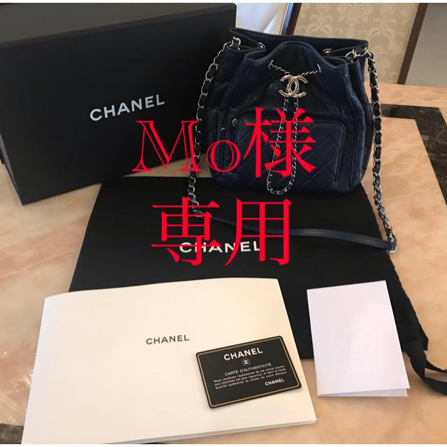 CHANEL(シャネル)の Mo様 専用 ★正規品 CHANEL 巾着バッグ レディースのバッグ(ハンドバッグ)の商品写真