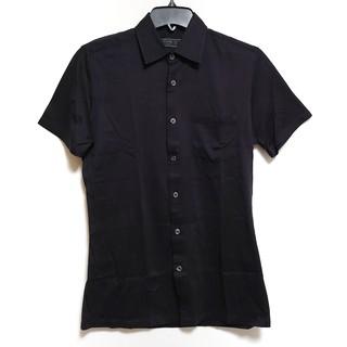 プラダ(PRADA)のプラダ 半袖シャツ サイズ38/15 メンズ 黒(シャツ)