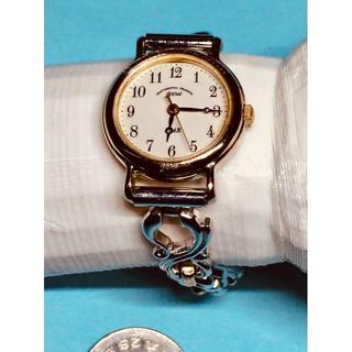 オリエント(ORIENT)のW15)気品の(*'▽')オリエント・ユー電池交換済みゴールドブレスウォッチ(腕時計)