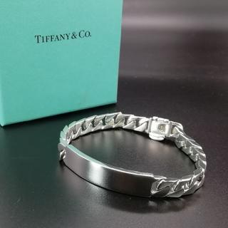 ティファニー(Tiffany & Co.)の極希少 美品 ティファニー 喜平 プレート ブレスレット LI50(ブレスレット)