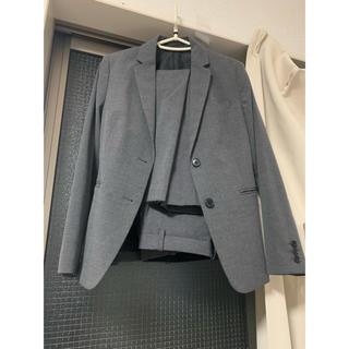 ナチュラルビューティーベーシック(NATURAL BEAUTY BASIC)のユニクロ スーツ ジャケット パンツ セットアップ グレー h&m gu(スーツ)