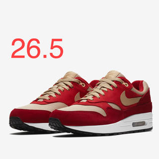 ナイキ(NIKE)のNIKE AIR MAX 1 PREMIUM RETRO RED CURRY(スニーカー)