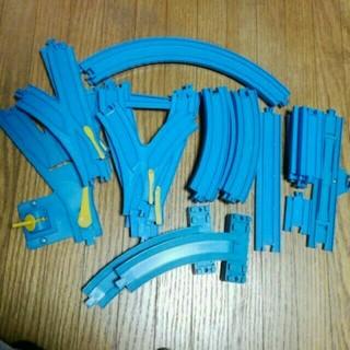 タカラトミー(Takara Tomy)の美品 プラレール タカラトミー レールセット 電車 おもちゃ(電車のおもちゃ/車)