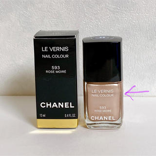 CHANEL - CHANEL シャネル ヴェルニ 593 ローズ モワレ ネイルエナメル