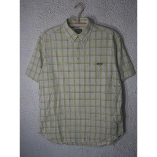 エーグル(AIGLE)のo1423 AIGLE 爽やか プルオーバー 半袖 チェック シャツ(シャツ)