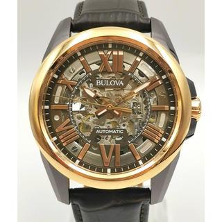 ブローバ(Bulova)のBULOVA ブローバ 98A165  スケルトン 時計(腕時計(アナログ))