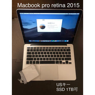 Mac (Apple) - MacBook pro retina 2015 美品/SSD1TB可