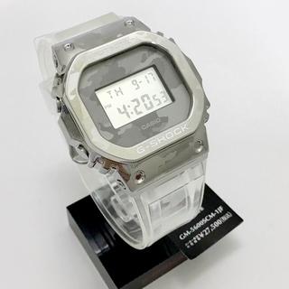 ジーショック(G-SHOCK)の新作Gショック GM-5600SCM-1JF スケルトンカモフラージュ(腕時計(デジタル))