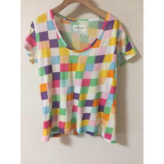 ツモリチサト(TSUMORI CHISATO)のツモリチサト トップス  (Tシャツ(半袖/袖なし))