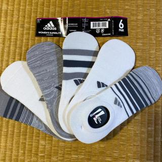 アディダス(adidas)の6足セット adidas アディダス レディース キッズ ソックス 靴下(ソックス)