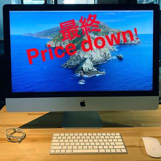 Mac (Apple) - iMac Retina 5K ディスプレイモデル 27インチ