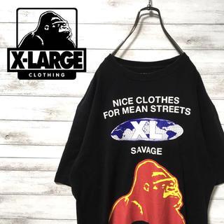エクストララージ(XLARGE)の激レア 90s エクストララージ Tシャツ デカロゴ ビックシルエット 美品(Tシャツ/カットソー(半袖/袖なし))