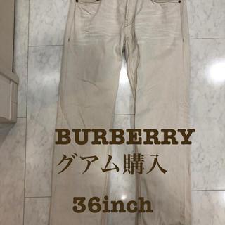 バーバリー(BURBERRY)の36inch定価6万 BURBERRYBrit バーバリーブリットダメージ加工(デニム/ジーンズ)