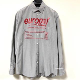 バレンシアガ(Balenciaga)の国内正規品 バレンシアガ ビックロゴ 長袖 シャツ 2018SS 未使用!(シャツ)
