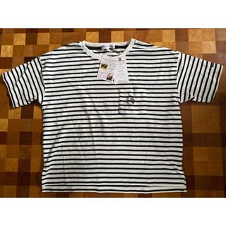 ポロラルフローレン(POLO RALPH LAUREN)のu.s. polo assn 刺繍ロゴ ボーダーTシャツ(Tシャツ(半袖/袖なし))
