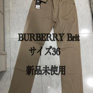 バーバリー(BURBERRY)の36inch定価205$ BURBERRYBrit バーバリーブリットチノパン(チノパン)