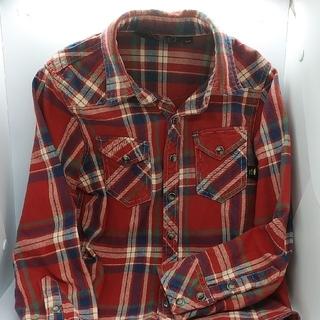 クリフメイヤー(KRIFF MAYER)の古着 子供服 KRIFF MAYER ウエスタンシャツ 130 (ブラウス)