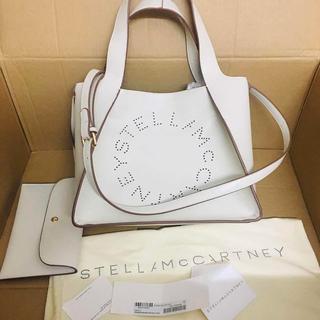 Stella McCartney - Stella McCartneyステラマッカートニー ロゴバッグ ホワイト