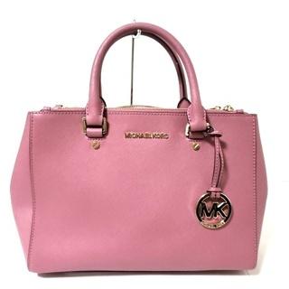 マイケルコース(Michael Kors)のマイケルコース トートバッグ美品  ピンク(トートバッグ)