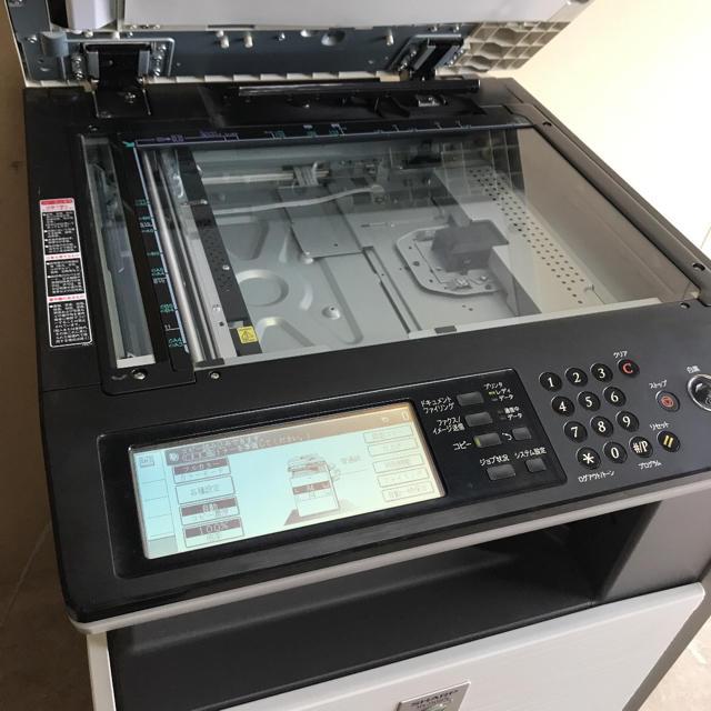 SHARP(シャープ)のシャープデジタルフルカラー複合機業務用コピー機 インテリア/住まい/日用品のオフィス用品(OA機器)の商品写真