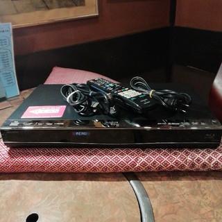 シャープ(SHARP)のSHARP BDW550 12倍録 2番組W録 500GB 外付HDD フル装備(ブルーレイレコーダー)