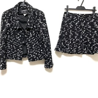 シャネル(CHANEL)のシャネル スカートスーツ サイズ36 S美品 (スーツ)