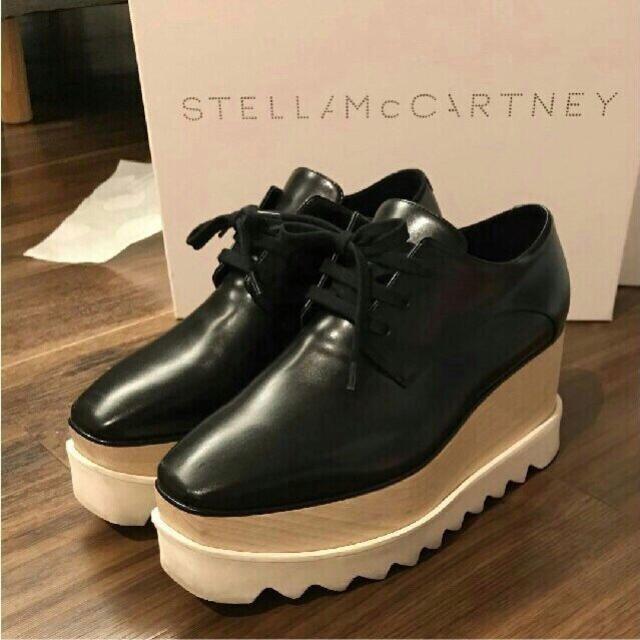 Stella McCartney(ステラマッカートニー)のStella McCartney ステラマッカートニー エリスシューズ 黒 レディースの靴/シューズ(ローファー/革靴)の商品写真