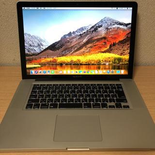 Mac (Apple) - MacBook Pro early 2011 15インチ core i7 ssd