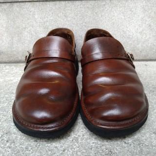 ネストローブ(nest Robe)のAURORA SHOES (オーロラシューズ) MIDDLE ENGLISH(ローファー/革靴)