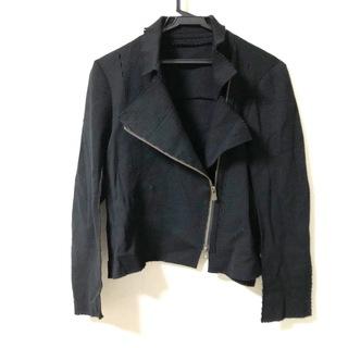 イッセイミヤケ(ISSEY MIYAKE)のイッセイミヤケ 長袖セーター サイズ2 M 黒(ニット/セーター)