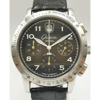 グラスヒュッテオリジナル(Glashutte Original)のGLASHUTTE ORIGINAL O480セネタ ナビゲーター クロノグラフ(腕時計(アナログ))