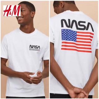 エイチアンドエム(H&M)の新品 H&M × NASA Tシャツ XLサイズ(Tシャツ/カットソー(半袖/袖なし))