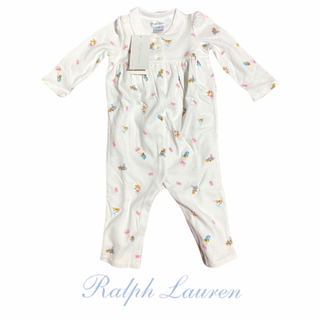 Ralph Lauren - 【新品タグ付き】元値¥8690円 ポロラルフローレン ロンパース75サイズ/7M