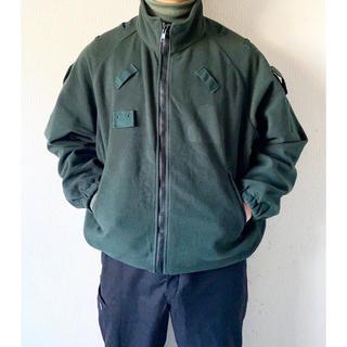 ヨウジヤマモト(Yohji Yamamoto)の希少 vintage アイルランド警察 ポリス グリーン 緑 フリースジャケット(ミリタリージャケット)