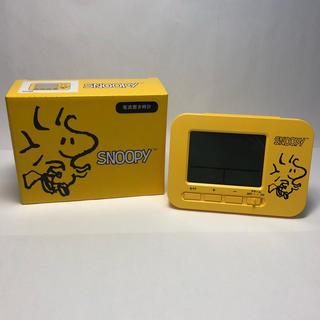 スヌーピー(SNOOPY)のスヌーピー SNOOPY  ウッドストック 電波置き時計 目覚まし時計(置時計)