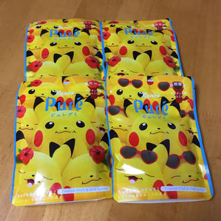 ポケモン - ピュレグミ ピカチュウ 4つ グミ お菓子 おやつ おまとめ売り