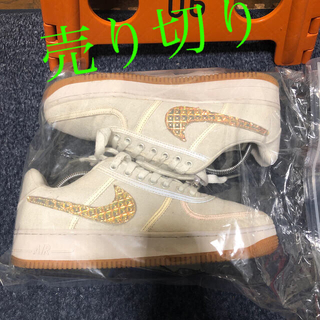 ナイキ(NIKE)のNike Air Force 1 Low Travis Scott Sail(スニーカー)