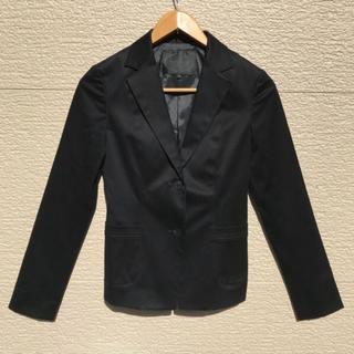 アンタイトル(UNTITLED)のUNTITLED アンタイトル ジャケット 黒 ブラック 1(テーラードジャケット)