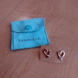 ティファニー(Tiffany & Co.)のTiffany&Co.*ティファニー*ラビングハート*ピアス(ピアス)