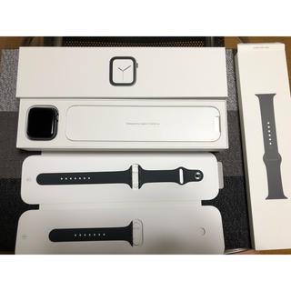アップルウォッチ(Apple Watch)のApple Watch Seria4 44mm GPSモデル(スマートフォン本体)