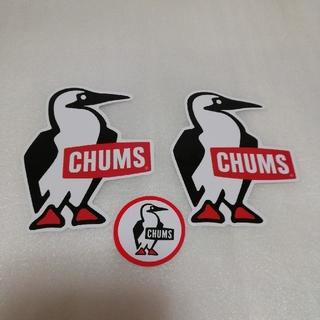 CHUMS - ★チャムスCHUMS防水ステッカー3枚組