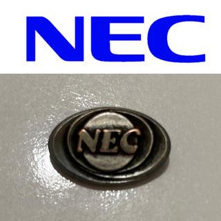 エヌイーシー(NEC)のNEC シルバーピンバッジ 純銀製 非売品 貴重 企業物 バッチ 日本電気 社章(その他)