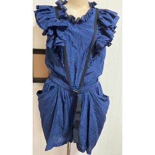 ナノユニバース(nano・universe)の美品!トウキョウドレス(TOKYO DRESS) オールインワン サロペット(サロペット/オーバーオール)